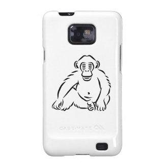 Monkey chimpanzee samsung galaxy s2 cover