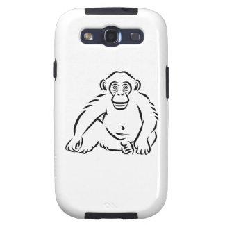 Monkey chimpanzee galaxy s3 cover