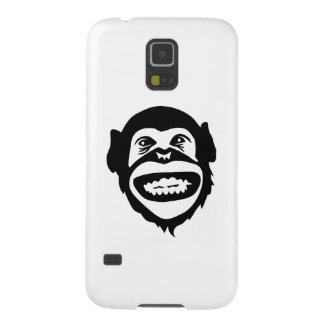 Monkey chimpanzee smile galaxy s5 cover