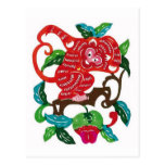 Monkey-Chinese Zodiac Sign Post Cards