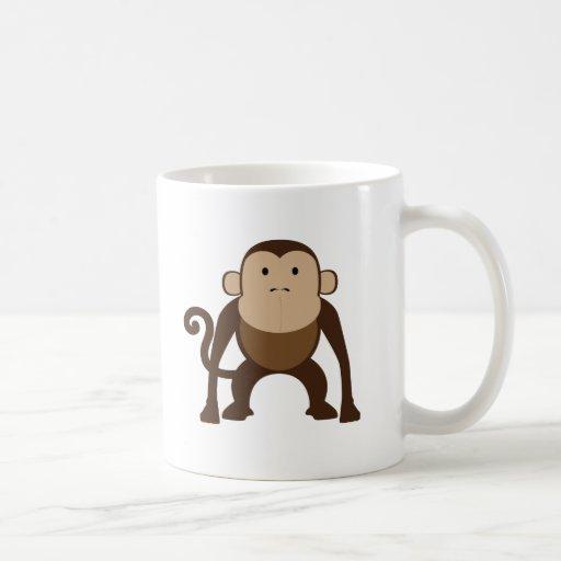 Monkey Classic White Coffee Mug