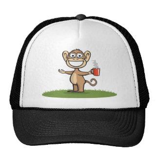 Monkey Coffee Trucker Hat