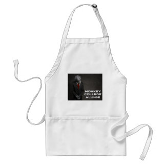 Monkey College Alumni Association Adult Apron