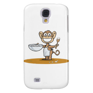Monkey Cook Galaxy S4 Cover