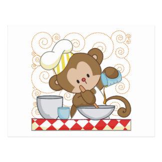 Monkey Cook Postcards