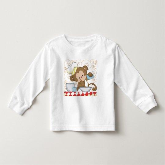 Monkey Cook Toddler T-shirt
