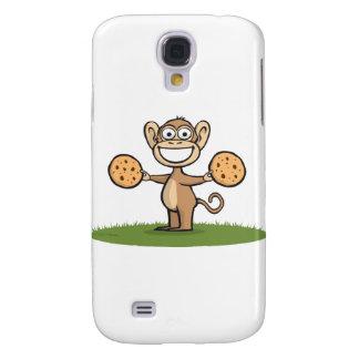 Monkey Cookies Galaxy S4 Case