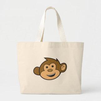 Monkey copy tote bag