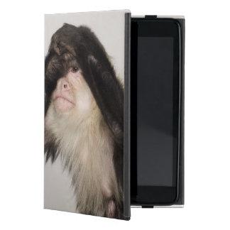 Monkey covering its eyes iPad mini case