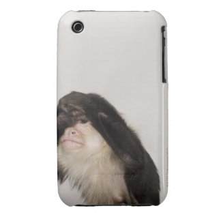 Monkey covering its eyes iPhone 3 Case-Mate cases