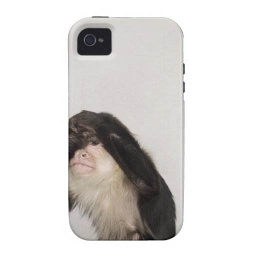 Monkey covering its eyes iPhone 4 cover