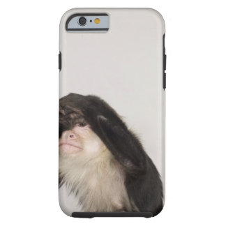 Monkey covering its eyes tough iPhone 6 case