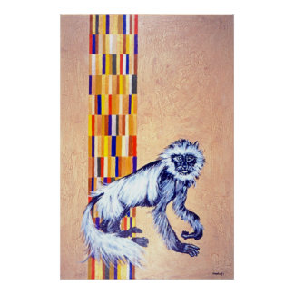 MONKEY CRACKLES POSTERS