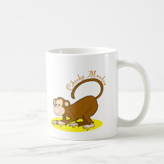 Monkey Crawling Coffee Mug