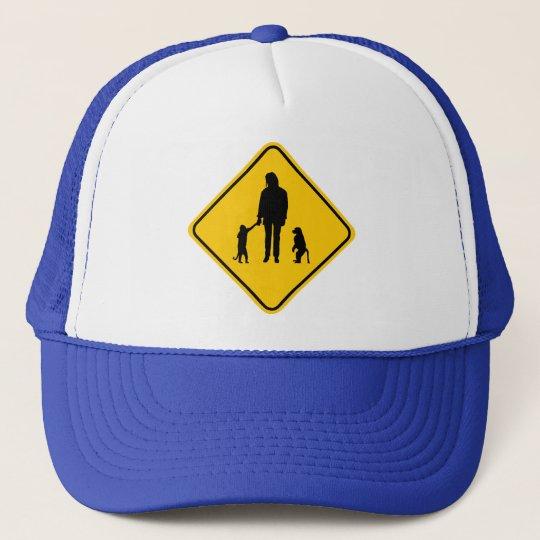 Monkey Crossing Trucker Hat
