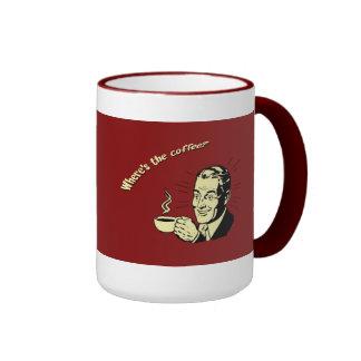 Monkey Cup Ringer Coffee Mug