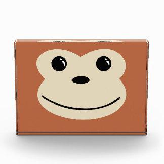 Monkey Cute Animal Face Design Award