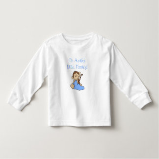 Monkey de tía - camisetas y regalos azules
