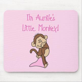Monkey de tía - camisetas y regalos rosados alfombrillas de raton
