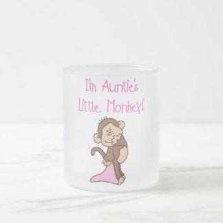 Monkey de tía - camisetas y regalos rosados taza