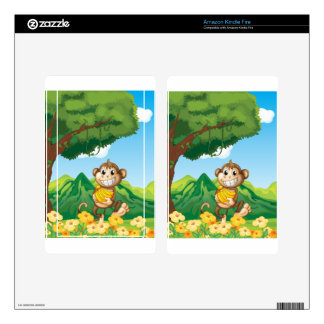 Monkey Decals For Kindle Fire
