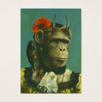 Monkey Demon ACEO Business Card
