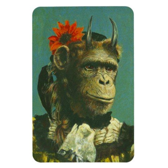Monkey Demon Flexi Magnet