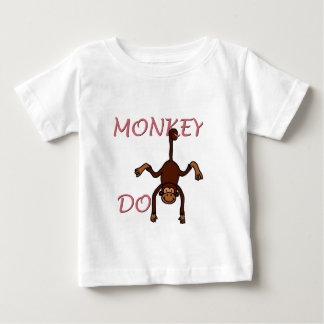 monkey do 2 in pink t-shirt