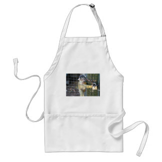 Monkey Do Adult Apron