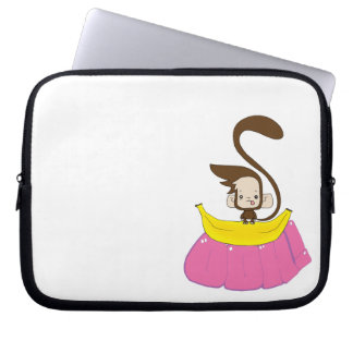 Monkey 'Do on a Banana Laptop Sleeve
