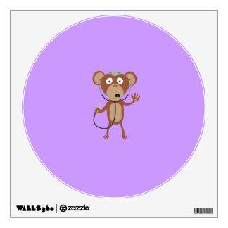 monkey doctor wall sticker