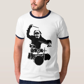 Monkey Drummer T-Shirt