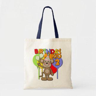 Monkey el 2do cumpleaños bolsas