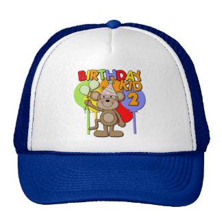 Monkey el 2do cumpleaños gorro de camionero