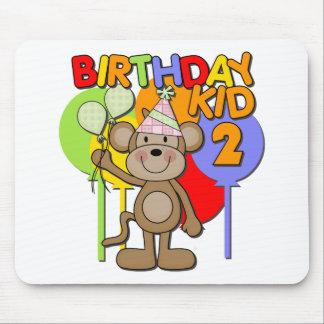 Monkey el 2do cumpleaños tapetes de raton