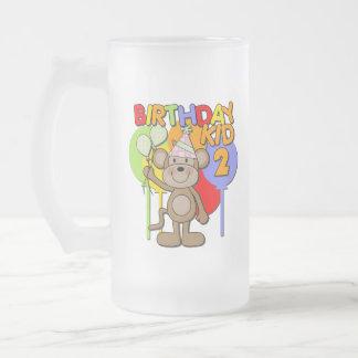Monkey el 2do cumpleaños taza de café