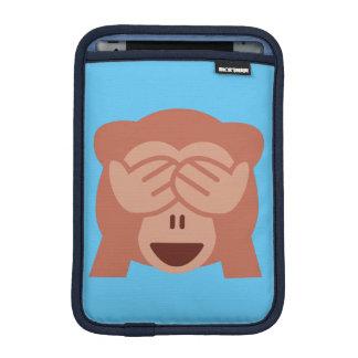 Monkey Emoji iPad Mini Sleeve