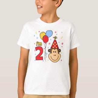Monkey Face  2nd Birthday T-Shirt