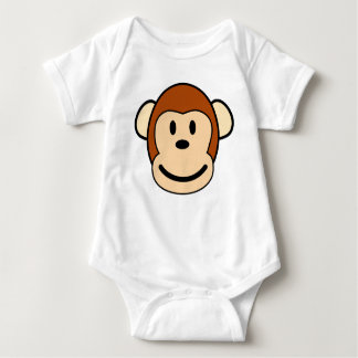 Monkey Face Baby One-Piece T-Shirt