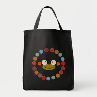 Monkey Face! Grocery Tote Bag