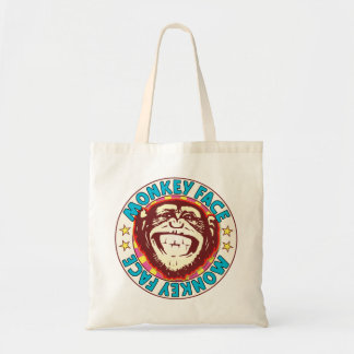 Monkey Face Budget Tote Bag