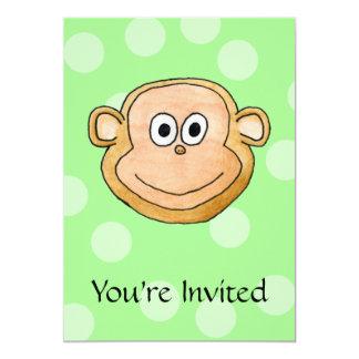 Monkey Face. Card