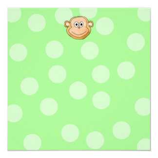 Monkey Face. Card