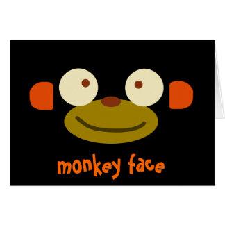 Monkey Face! Card