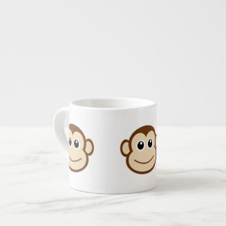 Monkey Face Cartoon Espresso Cup