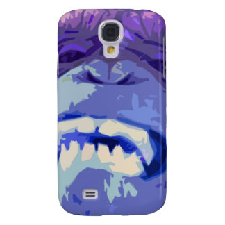 Monkey Face Chimpanzee Galaxy S4 Cases