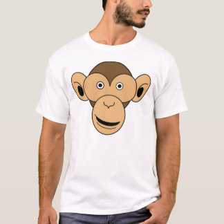Monkey Face Color T-Shirt