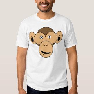 Monkey Face Color T-shirts