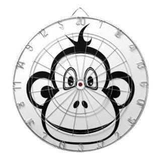 Monkey Face Dart Board