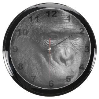 """""""Monkey face"""" design wall clock Aqua Clock"""